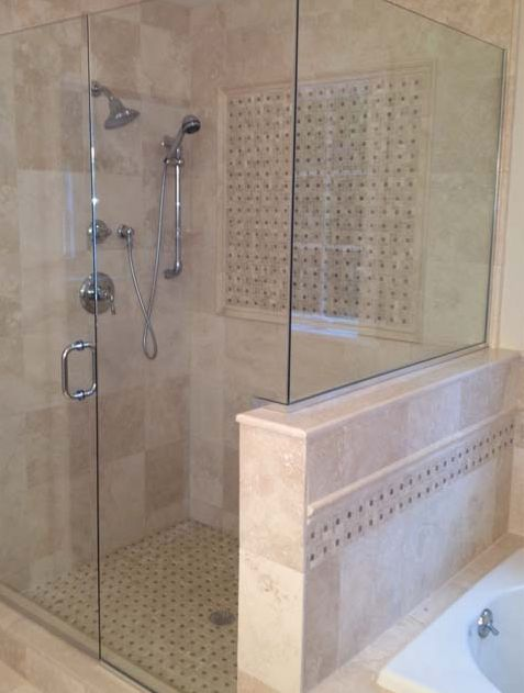 creative-of-modern-frameless-shower-doors-and-frameless-shower-door-exeter-glass